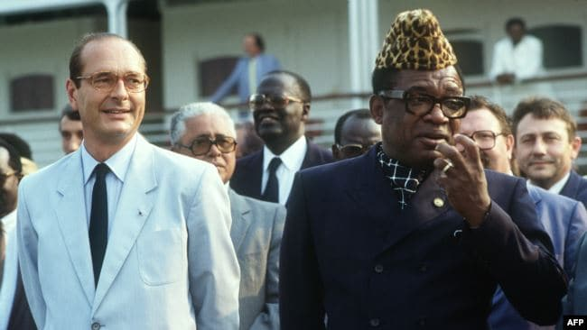 Jacques Chirac «l'Africain»